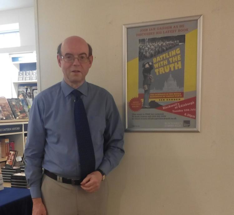Ian Garden at blackwells bookshop